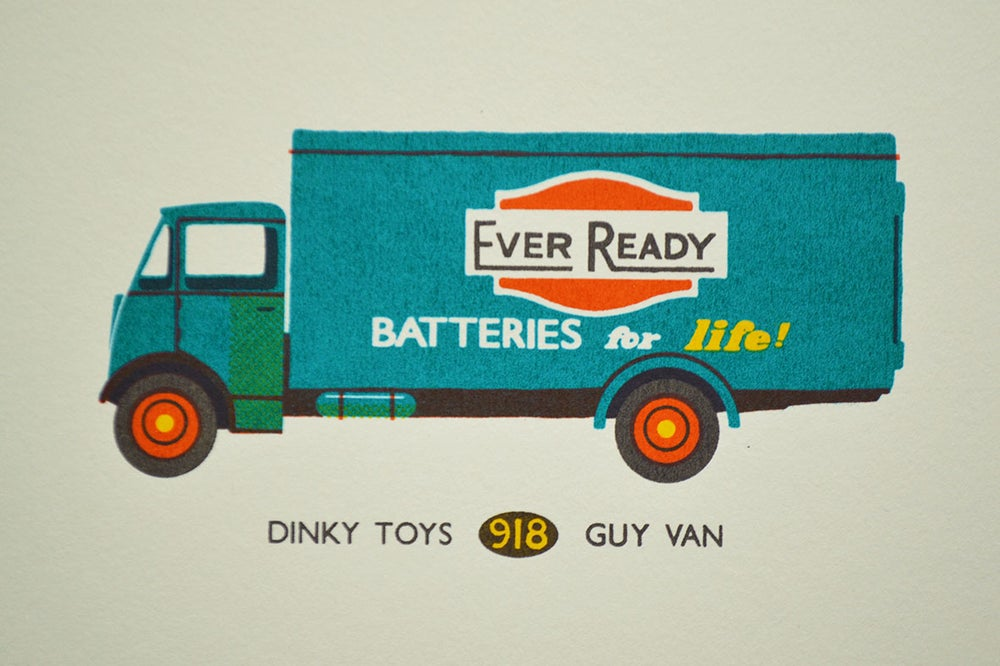 Image of Dinky Toys Ever Ready Van 50% Off