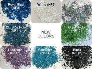 Image of Glitter Flakes <p> (5 gr.)  </p> 22 Colors Available