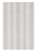 Image of Aland Stripe Woven Cotton Rug