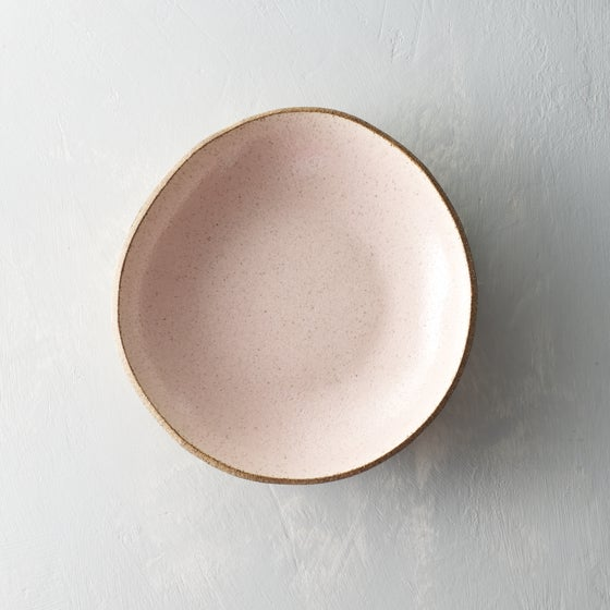 Image of Pale blush serving bowl