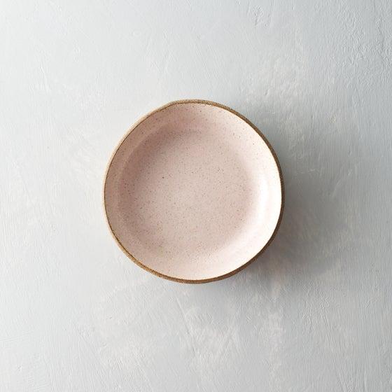 Image of Pale blush speckled bowls