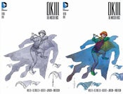 Image of DKIII Batman #1 BRIAN STELFREEZE Sketch B&W & Color Variant SET