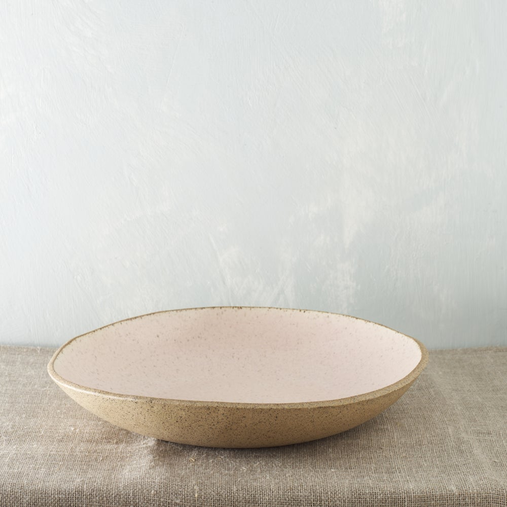 Image of Pale blush serving bowl