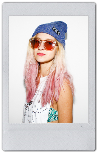Image of BLUE HEATHER BEANIE