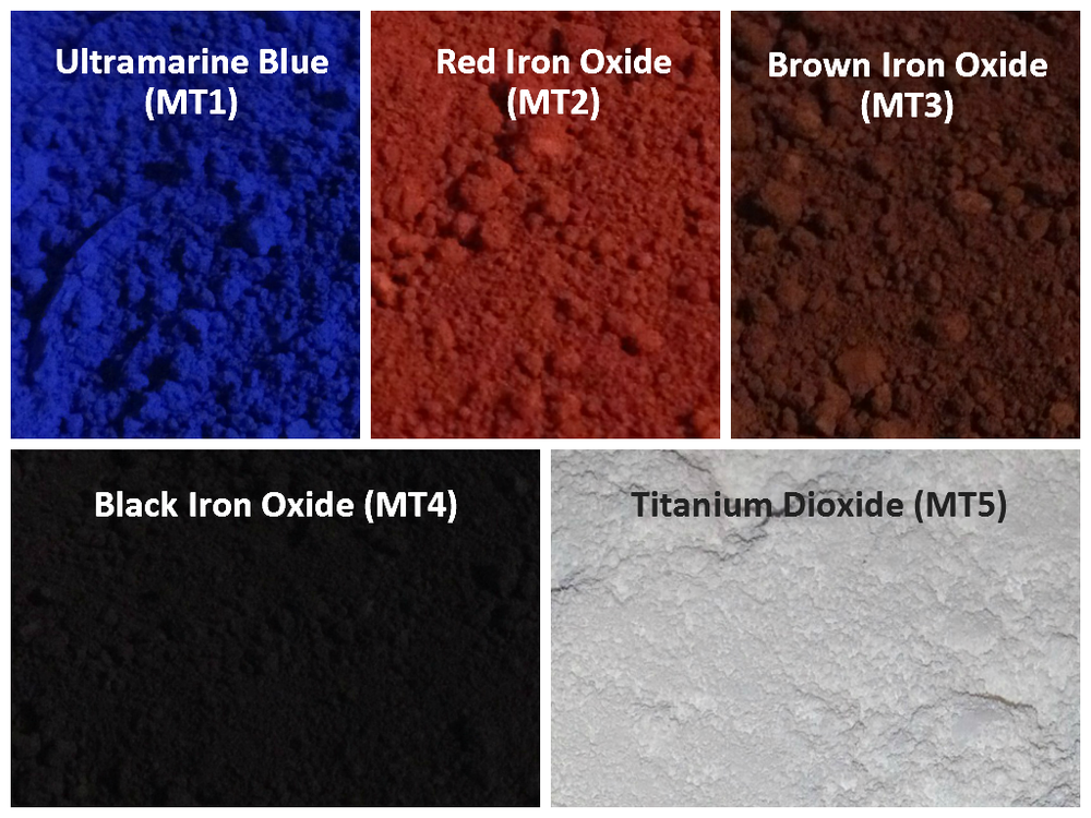 Image of Matte Pigments <p> 13 Colors Available