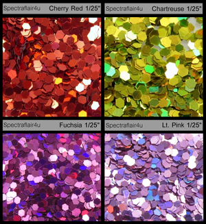 "Image of Holoflake Glitter <p> .04""  (1/25"") </p> 7 Colors Available"