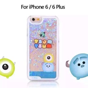 Image of Disney Tsum Bling Liquid Glitter Case for iPhone6/6S & GalaxyS6