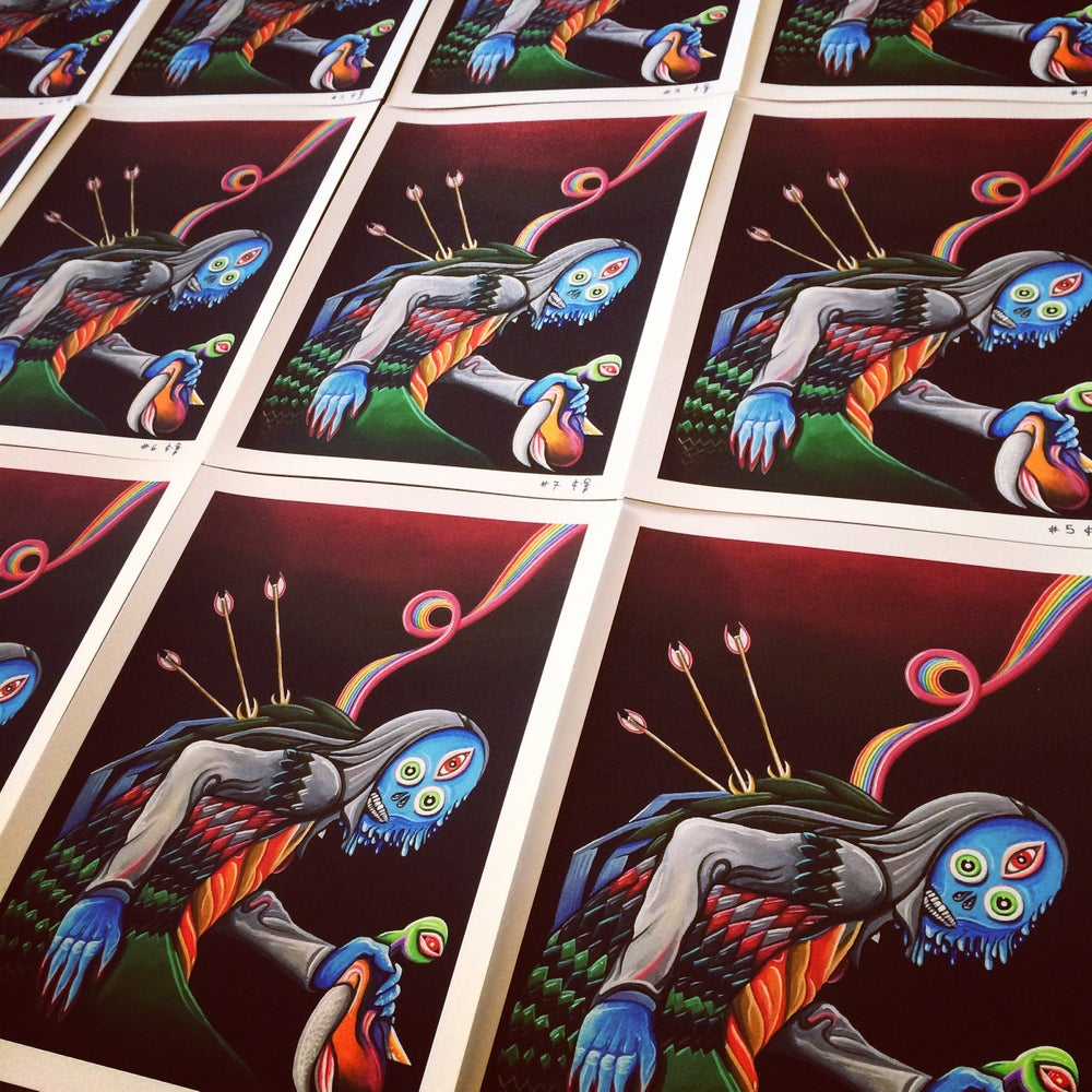 "Image of ""Duck, die nasty!"" PRINTS"