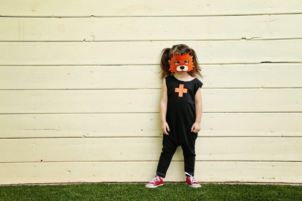 Image of Felt Tiger Mask