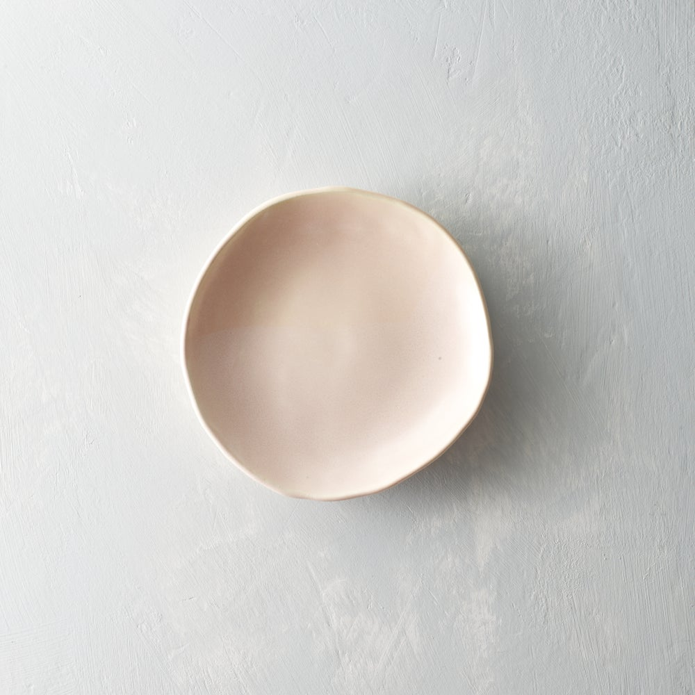 Image of Pale blush porcelain bowl