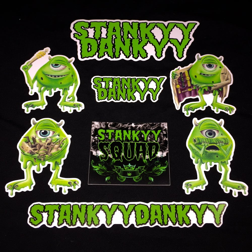 Image of XL Stankyy Sticker Pack (save $6)