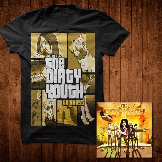 Image of Gold Dust Album + T-Shirt GTA vs TDY Bundle