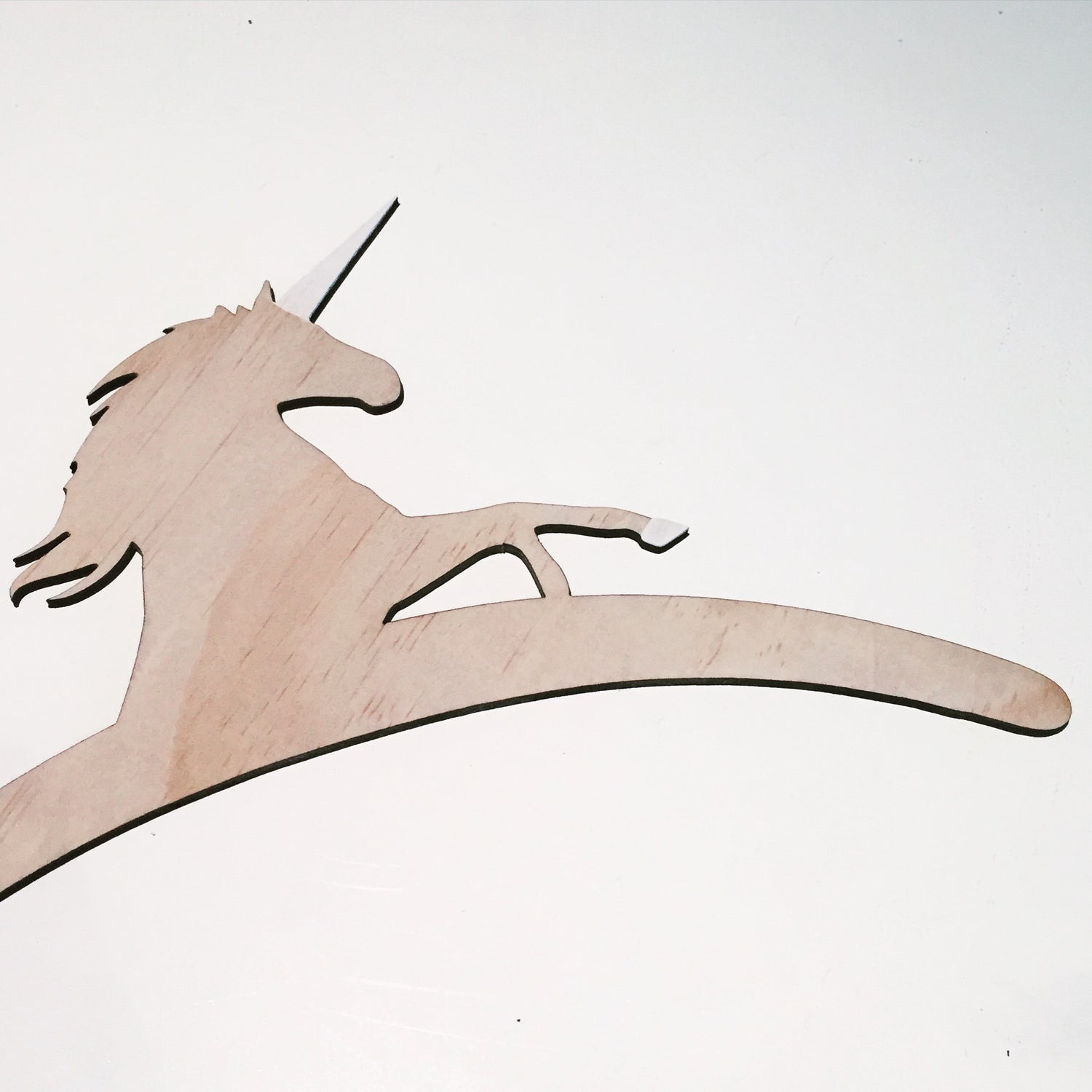Image of WOOD UNICORN HANGER