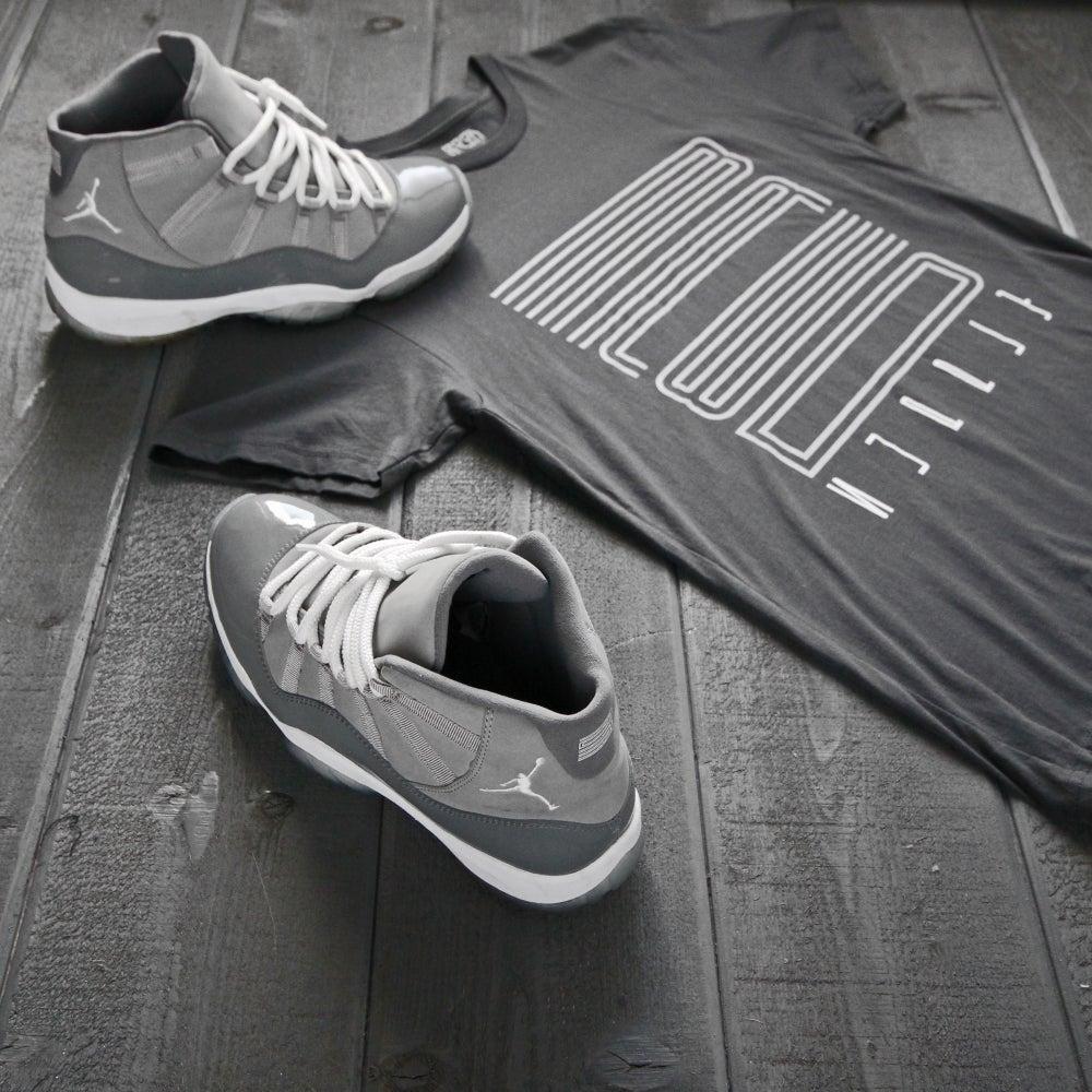 "Image of ""Bred Supply"" Cool Grey Shirt"