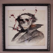 Image of Count Dracula Limited Edition Print (Framed)
