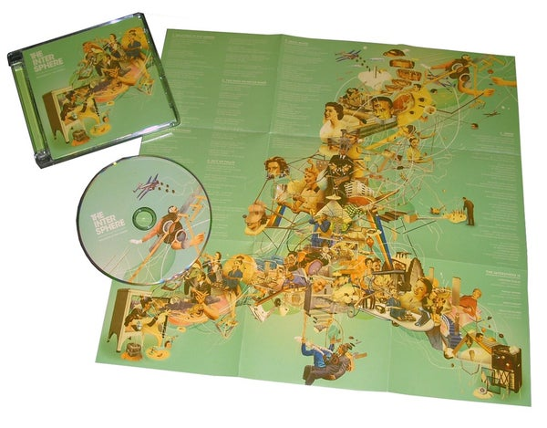 "Image of The Intersphere ""Relations In The Unseen"" CD"