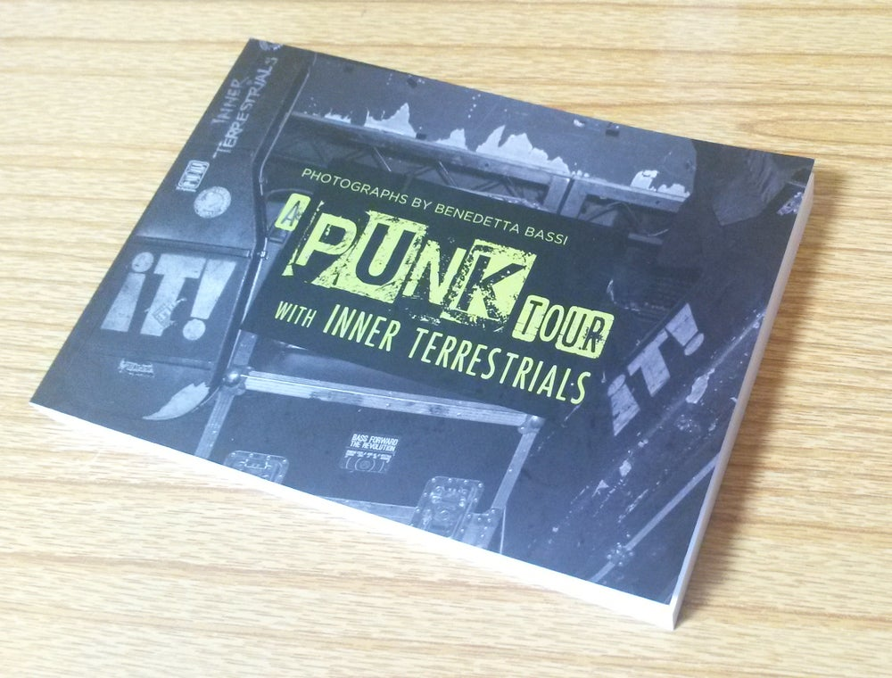 Image of NEW!! Photo Book 'A punk tour with Inner Terrestrials'