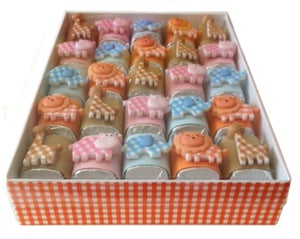 Image of Baby Safari Jewel Box Chocolate Nuggets