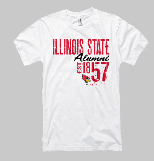 Image of Illinois State Neptune Alumni Tee - White