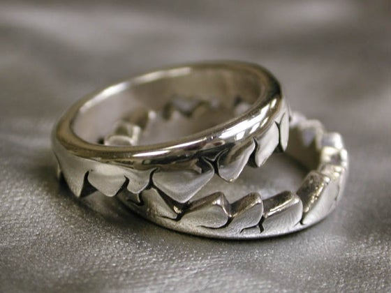 "Image of ""Two Piece Fault"" Ring - Sterling Silver"