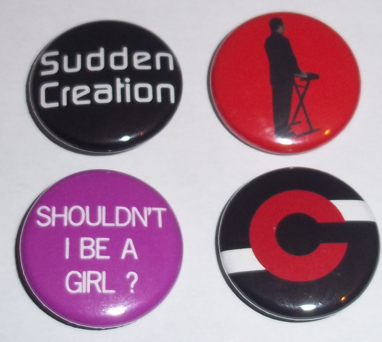 Image of Sudden Creation Badge Set