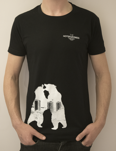 Image of 'Bear Fight' T-Shirt (Black)