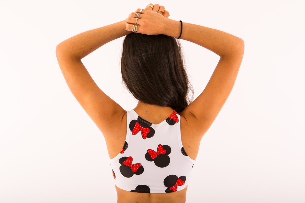 Image of Minnie Mouse Crop Top