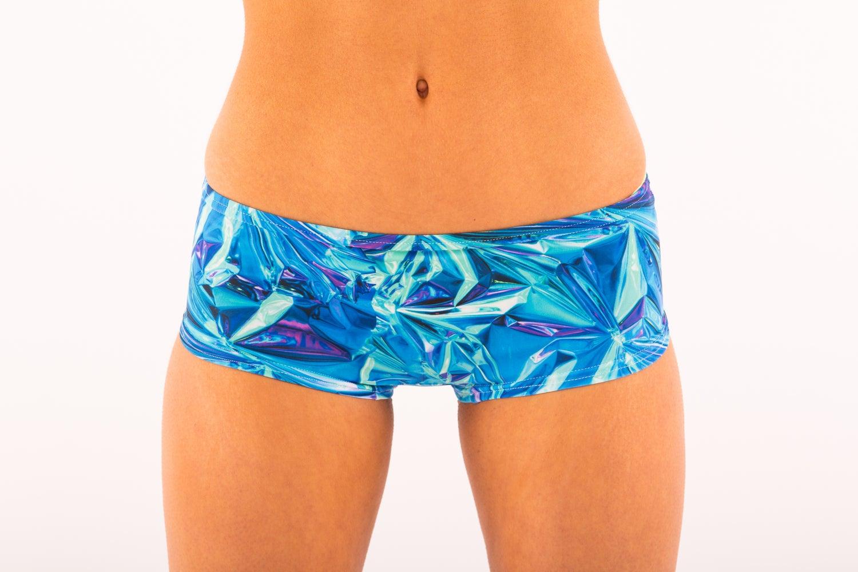 Image of Holographic Crunch Bumday Shorts
