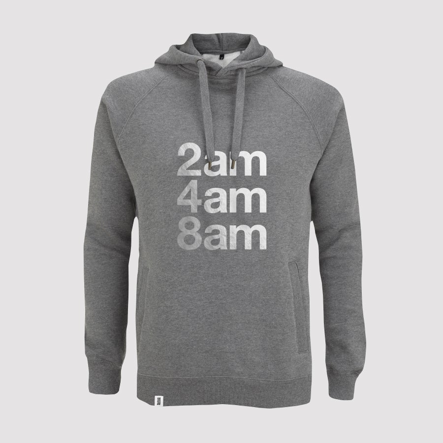Image of Bedrock 2am 4am 8am Mens Pullover Hoody