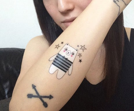 Image of In the Clouds, Temporary Tattoos