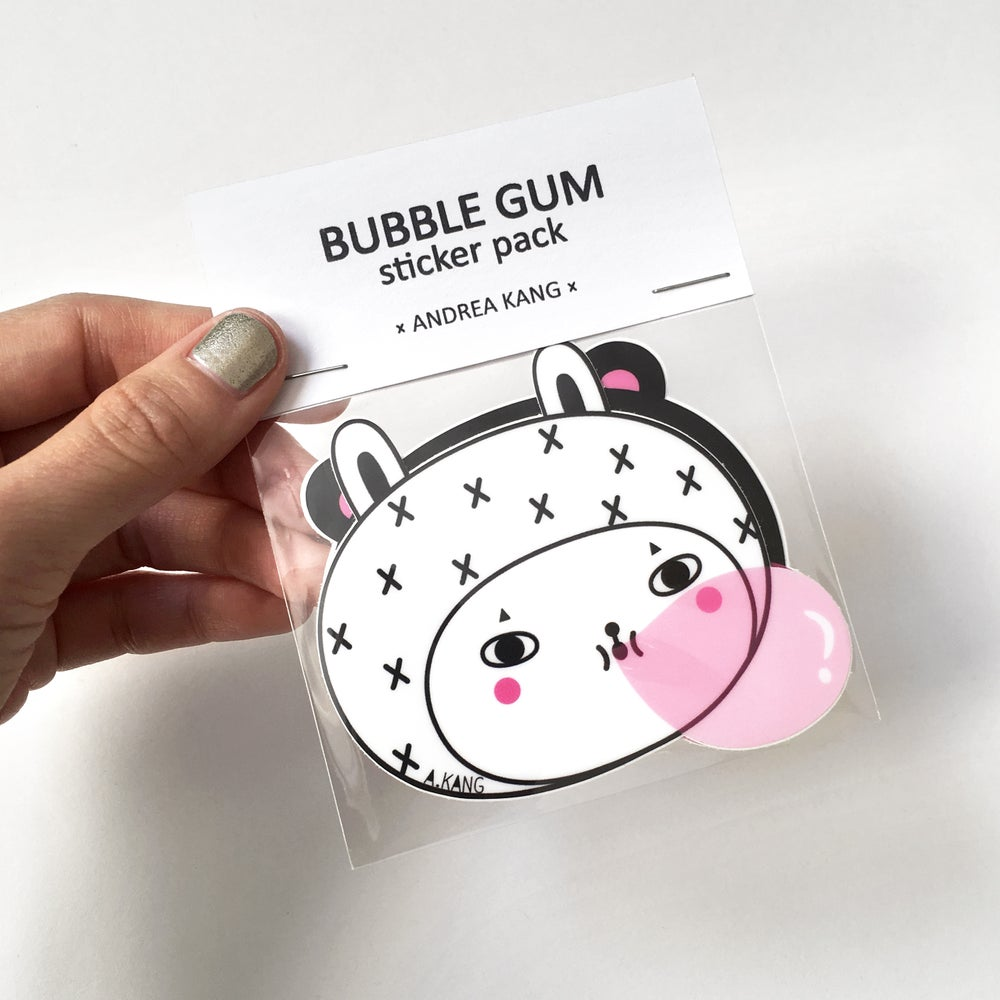 Image of Bubble Gum Sticker Set