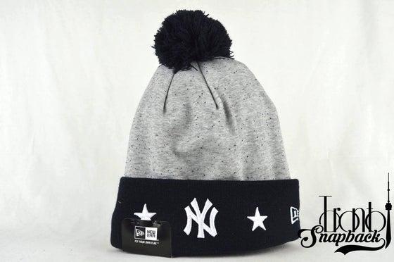 Image of NEW YORK YANKEES MLB HEATHER SPEC NEW ERA BEANIE