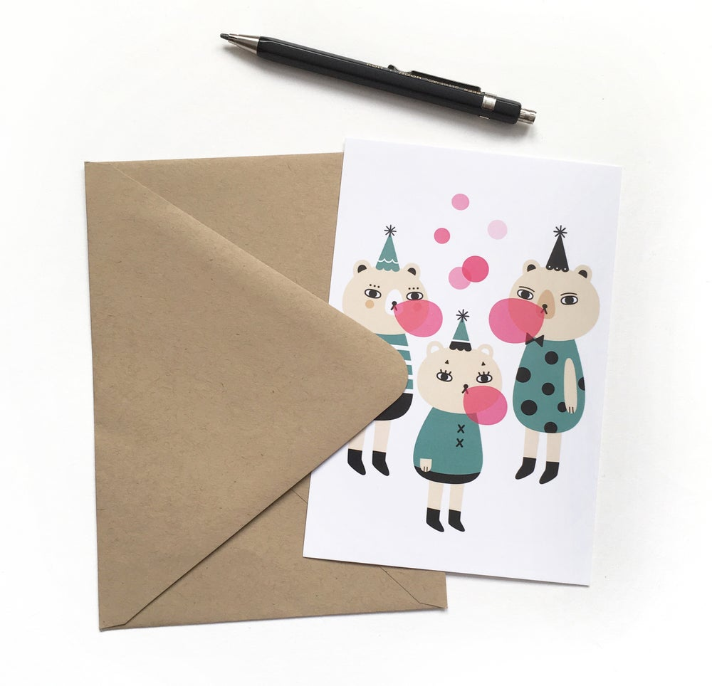 Image of Happy Party Notecard Set