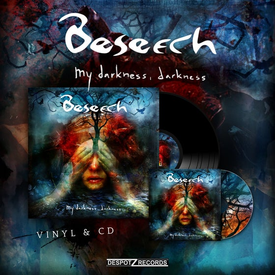 Image of Beseech - My Darkness, Darkness (Vinyl/CD)