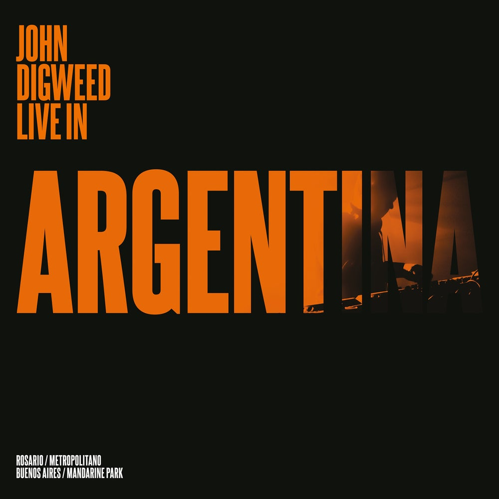 Image of John Digweed Live in Argentina 4xCD/Bonus DVD Ltd Signed Slipcase Edition Regular Shipping