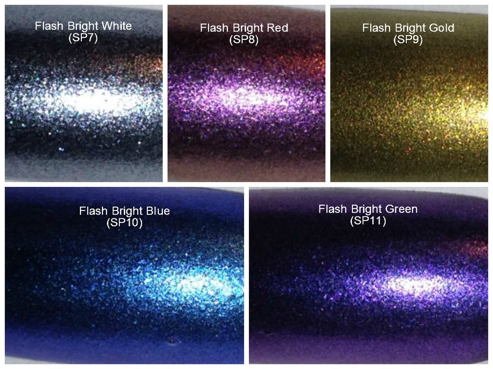 "Image of Sparks ""Flash Bright"" Pigment </p> 5 Colors Available"