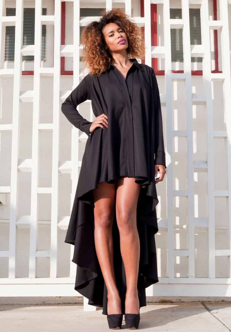 Image of Philthy Ragz Charcoal Black June Dress
