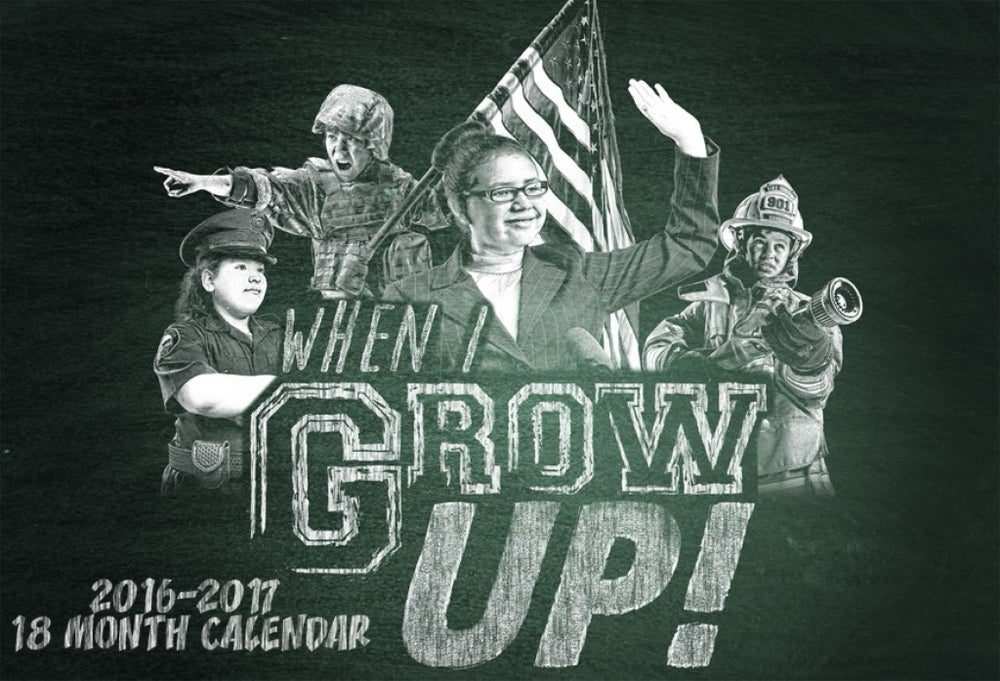 Image of 18 Month-When I Grow Up Calendar
