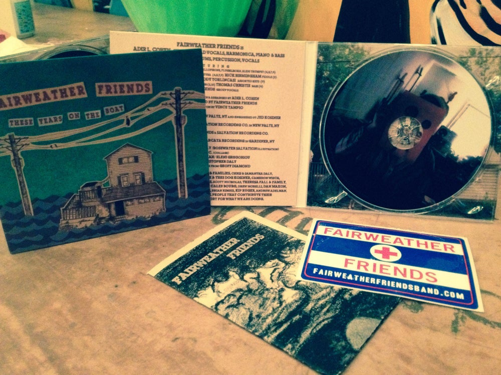 Image of Adir L.C. & Fairweather Friends CD (2012)