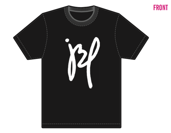 "Image of ""JBP"" Black Tee-Shirt"