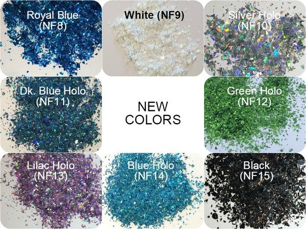 Image of Holo/Matte Glitter Flakes Sampler