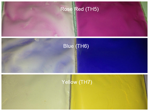Image of Thermal (Color to Colorless) Pigment Sampler