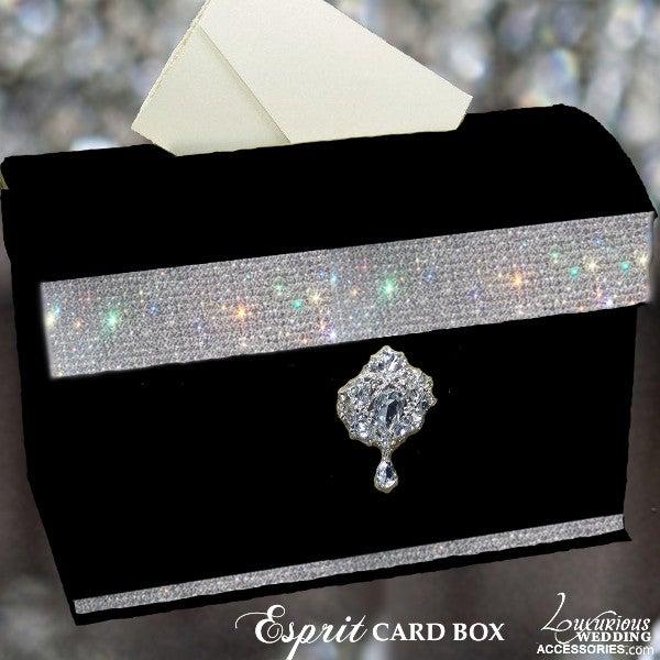Image of Esprit Crystal Embellished Card Box