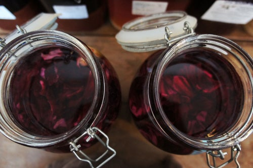Image of ROSELLE (HIBISCUS) spagyric tincture - alchemically enhanced plant extraction