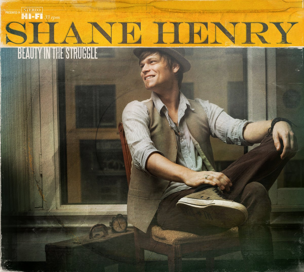 "Image of Shane Henry ""Beauty in the Struggle"" CD Signed"
