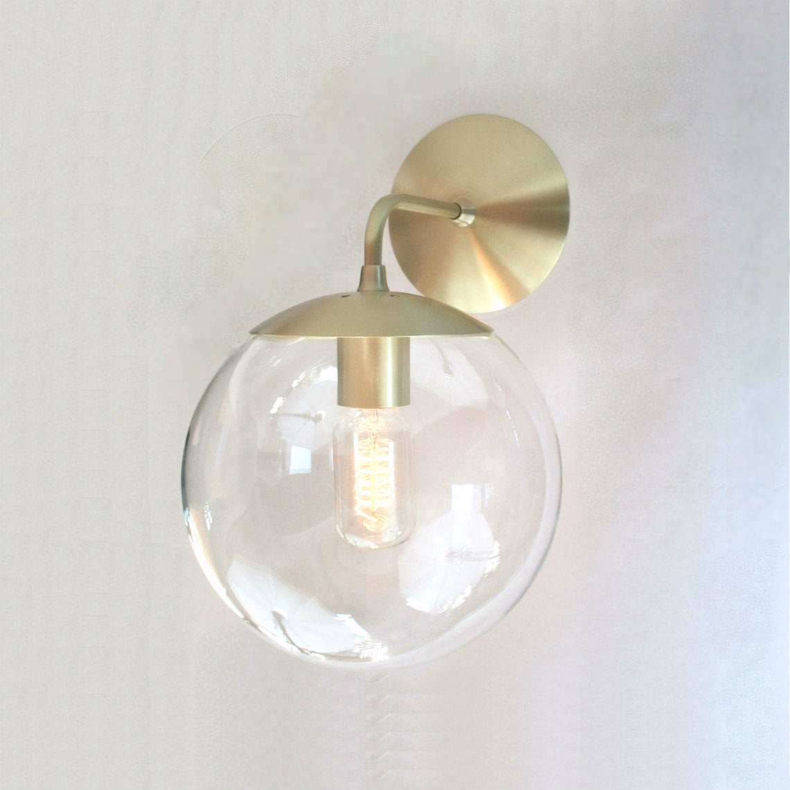Orbiter 8 wall sconce sanctum lighting image of adapted for intl use orbiter 8 wall sconce mid century aloadofball Choice Image