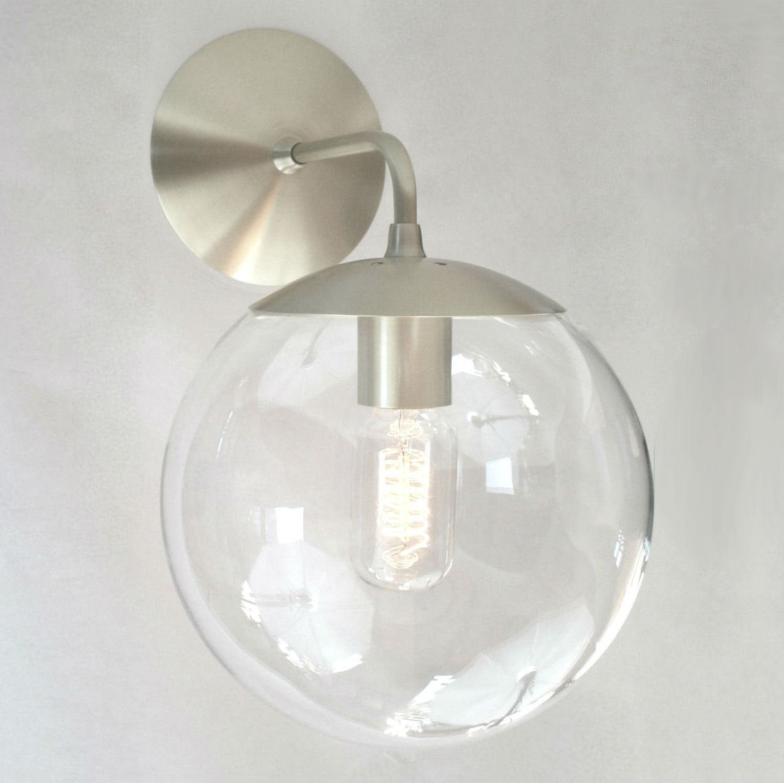 ... Image Of Adapted For Intu0027l Use   Orbiter 8 Wall Sconce   Mid Century ...