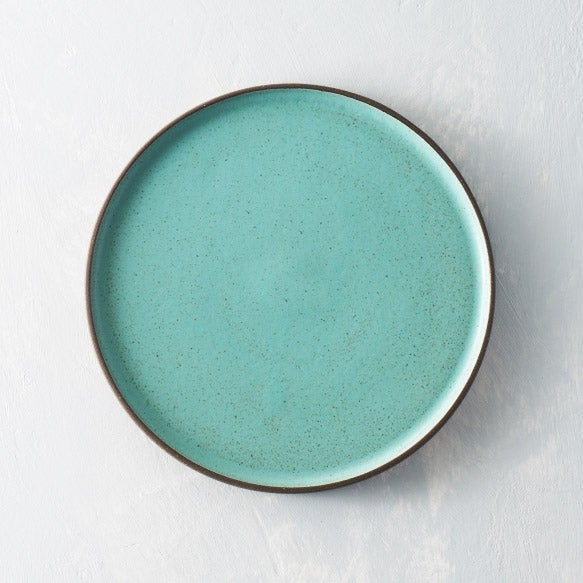 Image of Seafoam Dark Chocolate clay plate