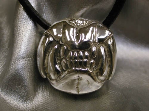 "Image of ""Lion Jaw"" Pendant - Sterling Silver"