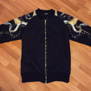 Image of Chain snake bomber jacket